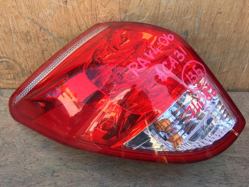 Задний фонарь Toyota Rav4 ACA31 2AZ 2006 задний левый 42-39, 74082 (б/у)