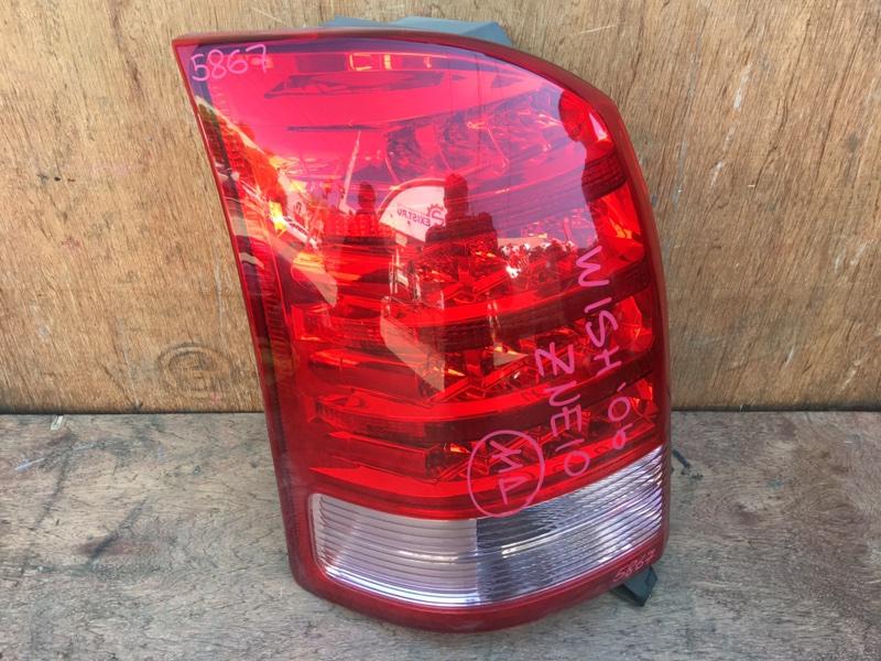 Задний фонарь Toyota Wish ZNE10 1ZZ 2006 задний левый 68-14, 5867 (б/у)
