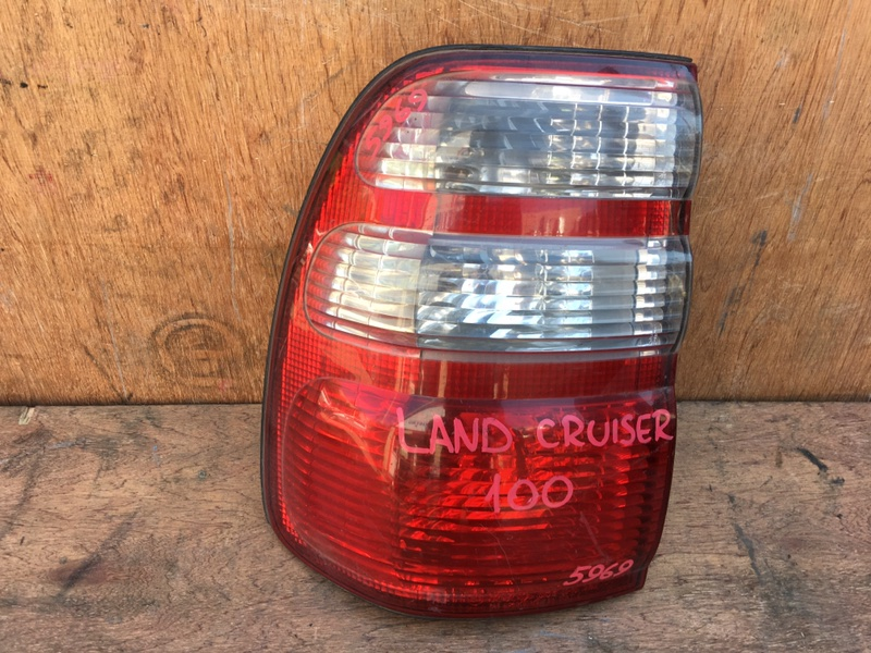 Задний фонарь Toyota Land Cruiser UZJ100 2UZ 2002 задний левый 60-70, 5969 (б/у)