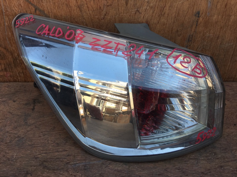 Задний фонарь Toyota Caldina ZZT241 1ZZ 2007 задний левый 21-68, 5922 (б/у)