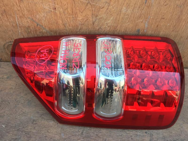 Задний фонарь Toyota Noah ZRR75 3ZR 2011 задний левый 28-219, 100610 (б/у)