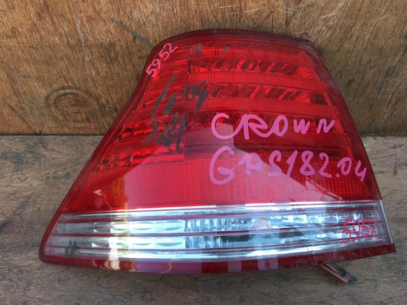 Задний фонарь Toyota Crown GRS182 3GR 2004 задний левый 30-303, 5952 (б/у)
