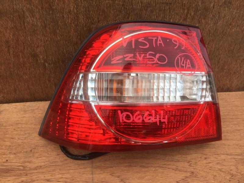 Задний фонарь Toyota Vista ZZV50 1ZZ 1999 задний левый 32-166, R1845, 106644 (б/у)
