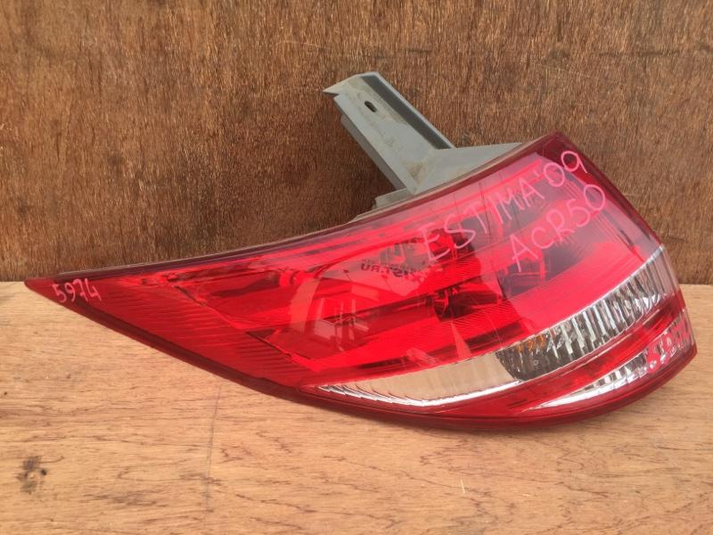 Задний фонарь Toyota Estima ACR50 2AZ 2009 задний левый 28-193, 5974 (б/у)