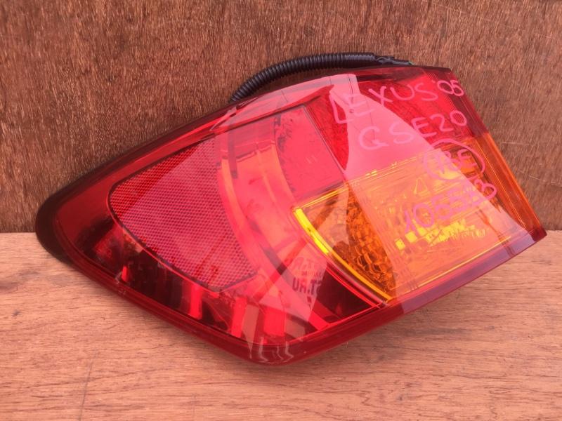 Задний фонарь Lexus Is250 GSE20 4GR 2005 задний левый 53-40, 105583 (б/у)