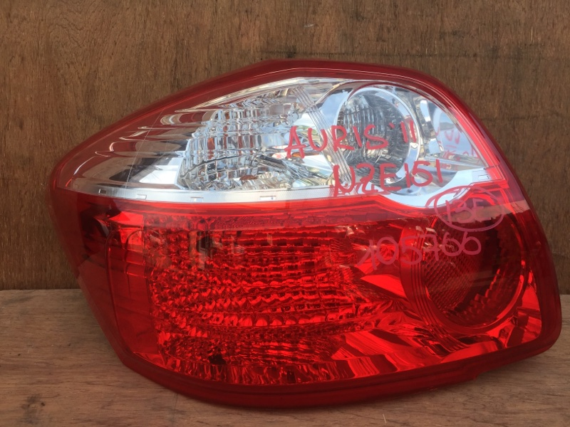 Задний фонарь Toyota Auris NZE151 1NZ 2011 задний левый 12-549, 105766 (б/у)