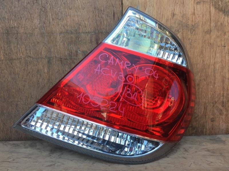 Задний фонарь Toyota Camry ACV30 2AZ 2004 задний правый 33-91, 105224 (б/у)