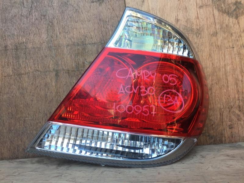 Задний фонарь Toyota Camry ACV30 2AZ 2005 задний правый 33-91, 100957 (б/у)