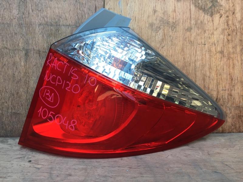 Задний фонарь Toyota Ractis NCP120 1NZ 2010 задний правый 52-226 3 шт. (б/у)
