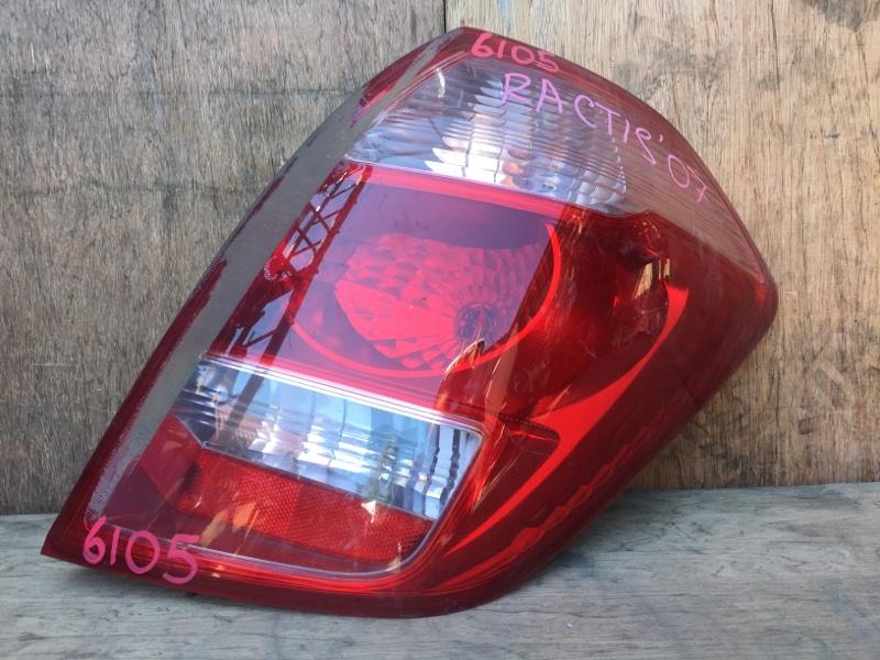 Задний фонарь Toyota Ractis NCP120 1NZ 2007 задний правый 52-159, 6105 (б/у)