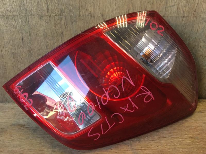 Задний фонарь Toyota Ractis NCP100 1NZ 2006 задний правый 52-159 4 шт. (б/у)
