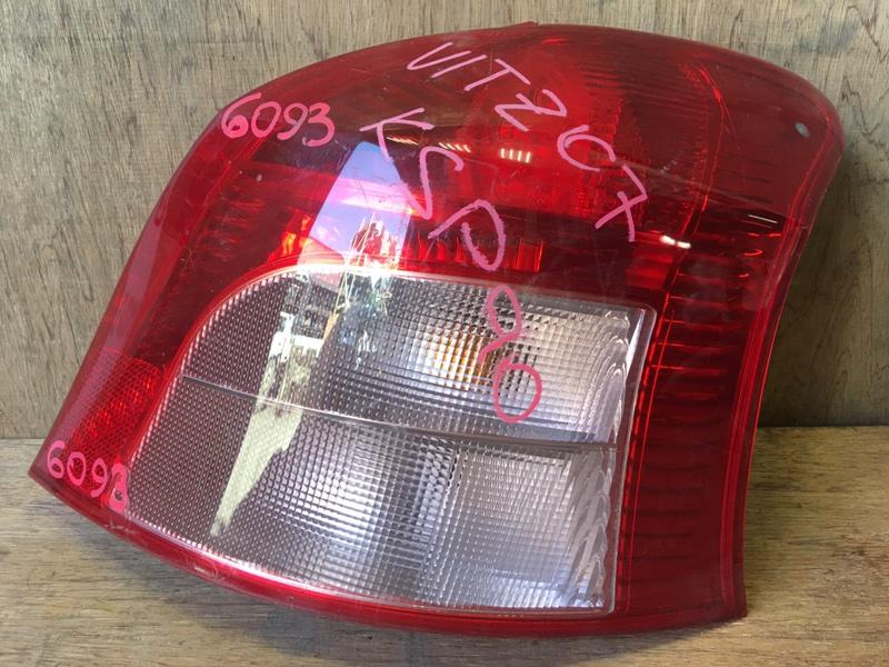 Задний фонарь Toyota Vitz KSP90 1KR 2007 задний правый 52-142, 6093 (б/у)