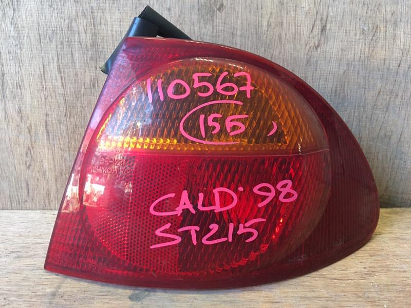 Задний фонарь Toyota Caldina ST215 3S 1998 задний правый 21-36, 7427, 110567 (б/у)