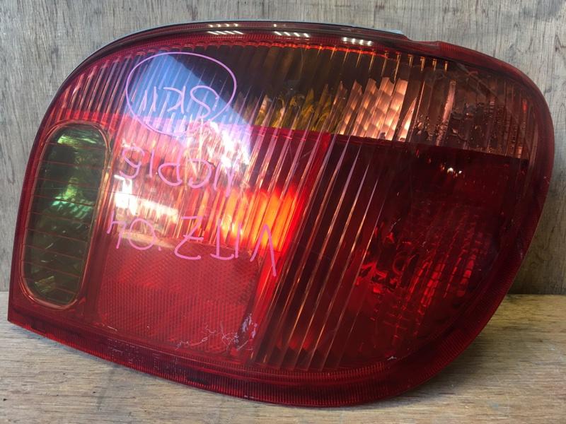 Задний фонарь Toyota Vitz NCP15 2NZ 2004 задний правый 52-049, 53-08701, 6087 (б/у)