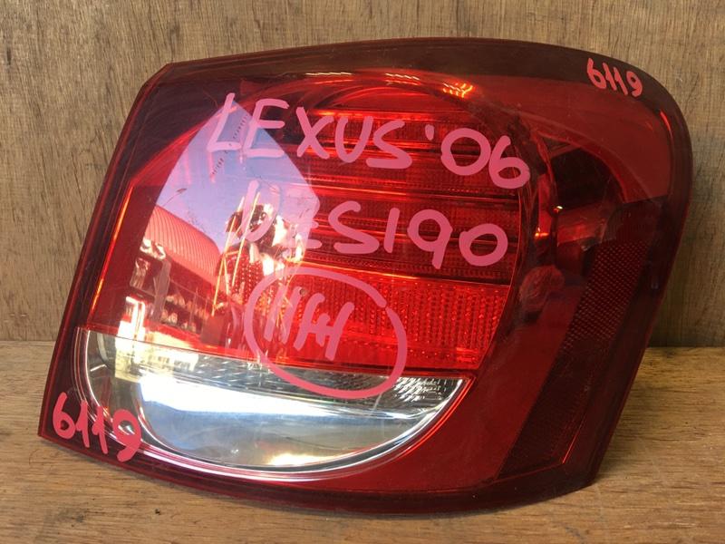Задний фонарь Lexus Gs430 UZS190 3UZ 2006 задний правый 30-325, 6119 (б/у)