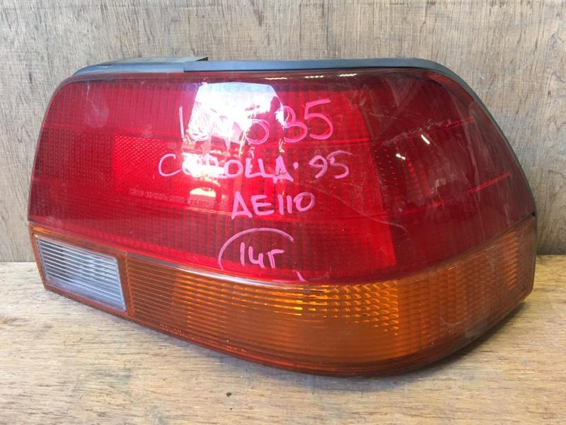 Задний фонарь Toyota Sprinter AE110 5A 1995 задний правый 12-413, 33-10107, 107535 (б/у)