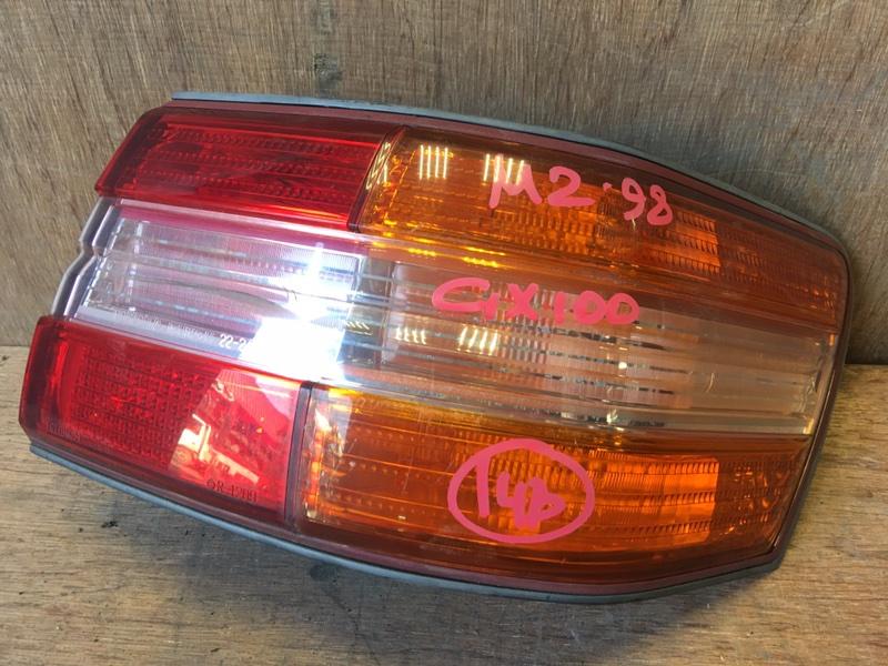 Задний фонарь Toyota Mark Ii GX100 1G 1998 задний правый 22-248, 7419 (б/у)