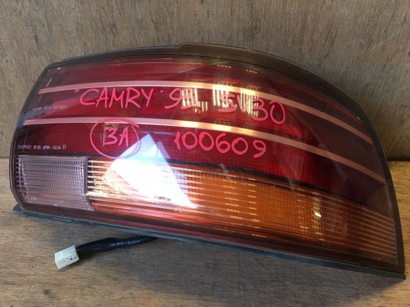 Задний фонарь Toyota Camry SV30 4S 1993 задний правый 32-135, 220-75661, 100609 (б/у)
