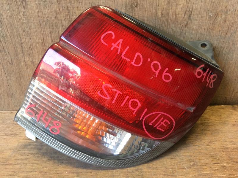 Задний фонарь Toyota Caldina ST191 3S 1996 задний правый 21-31, 7409, 6148 (б/у)