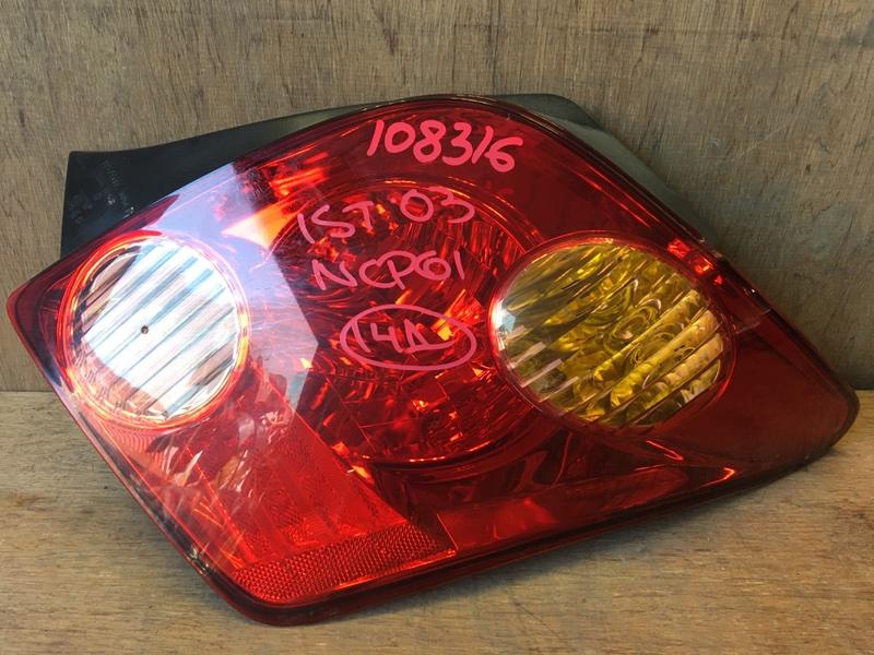 Задний фонарь Toyota Ist NCP61 1NZ 2003 задний правый 52-056, 108316 (б/у)
