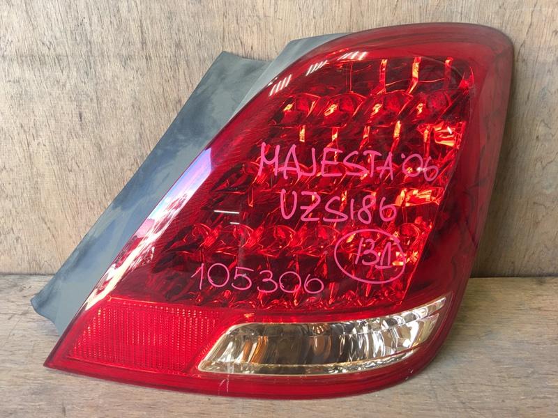 Задний фонарь Toyota Crown Majesta UZS186 3UZ 2006 задний правый 30-318, 105306 (б/у)