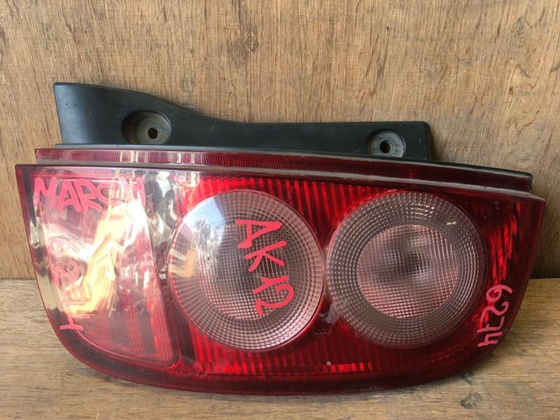 Задний фонарь Nissan March AK12 CR12DE 2002 задний правый 4994, 6274 (б/у)