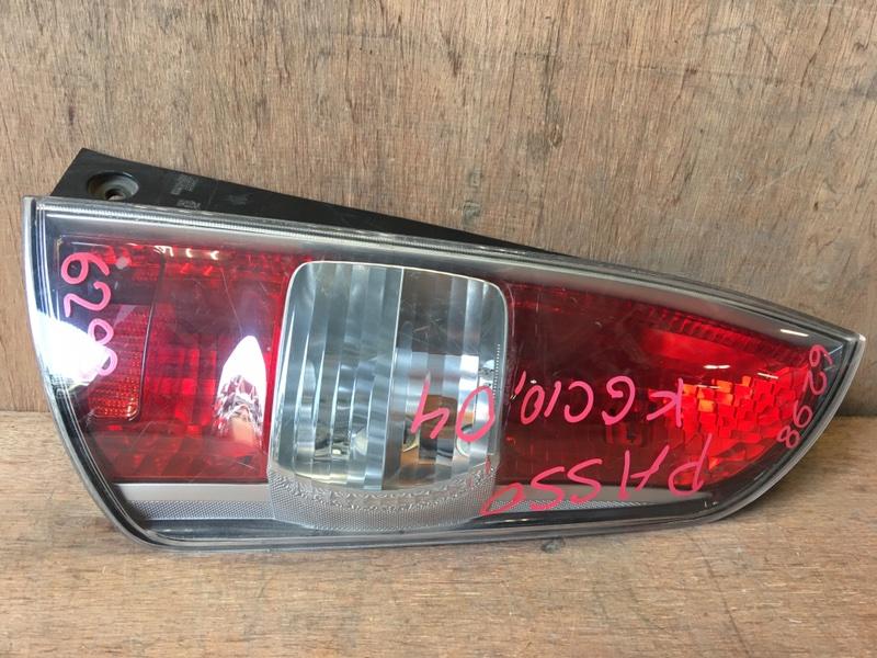 Задний фонарь Toyota Passo KGC10 1KR 2004 задний правый 220-51762, 6298 (б/у)