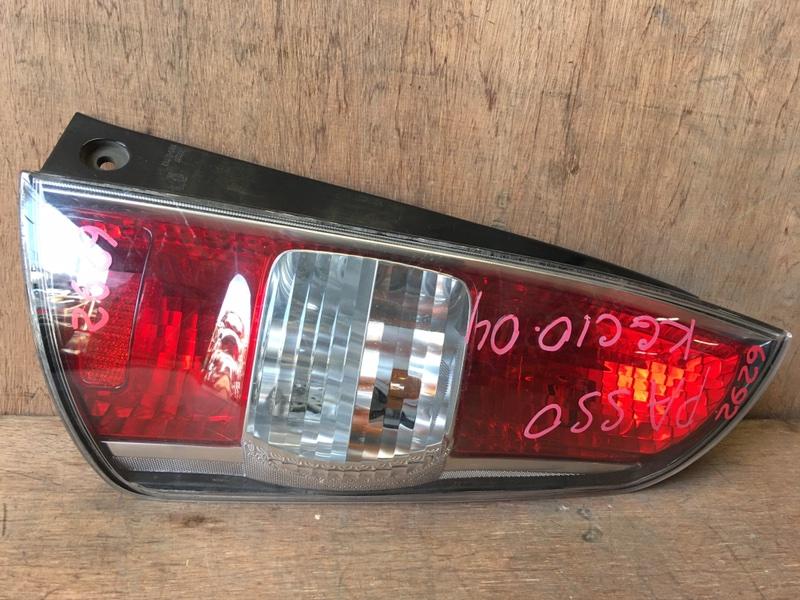Задний фонарь Toyota Passo KGC10 1KR 2004 задний правый 220-51762, 6292 (б/у)