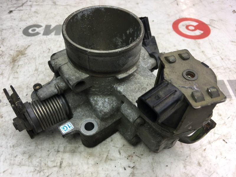 Заслонка дроссельная Mazda Premacy CP8W FP 2002 (б/у)
