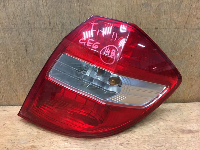 Задний фонарь Honda Fit GE6 L13A 2011 задний правый P9596 (б/у)