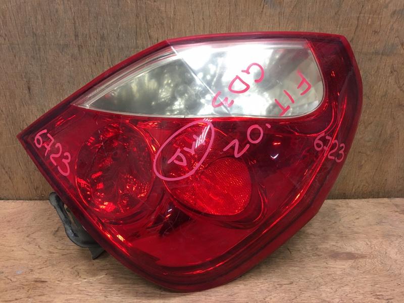 Задний фонарь Honda Fit GD1 L13A 2002 задний правый 611-56333, 6723 (б/у)