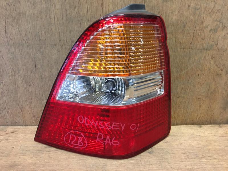 Задний фонарь Honda Odyssey RA6 F23A 2001 задний правый P0711 (б/у)
