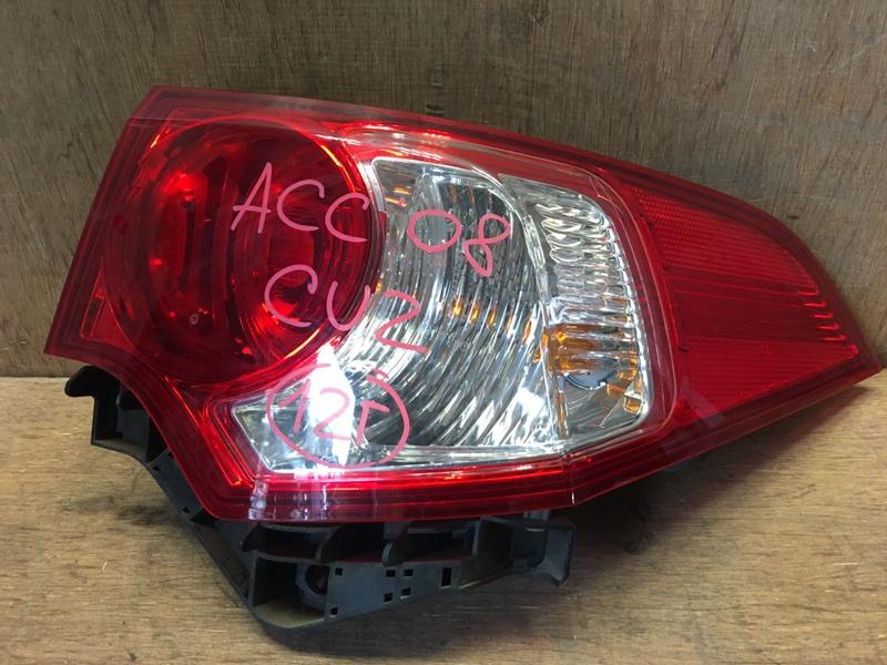 Задний фонарь Honda Accord CU2 R20A 2008 задний правый P7196 (б/у)