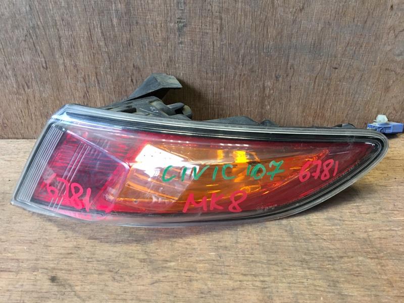 Задний фонарь Honda Civic FK2 R18A 2007 задний правый 220-16721, 6781 Хэтчбек. (б/у)