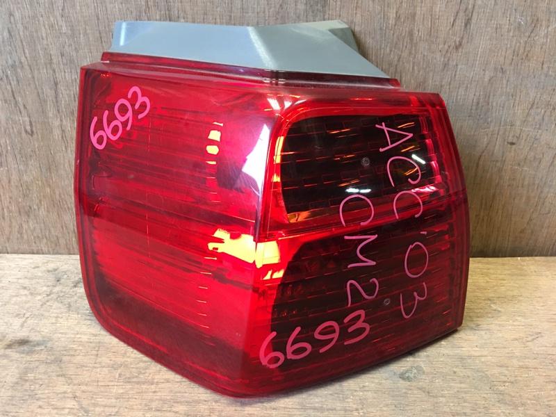 Задний фонарь Honda Accord CM2 K24A 2003 задний левый P3226, 6693 WAGON. (б/у)