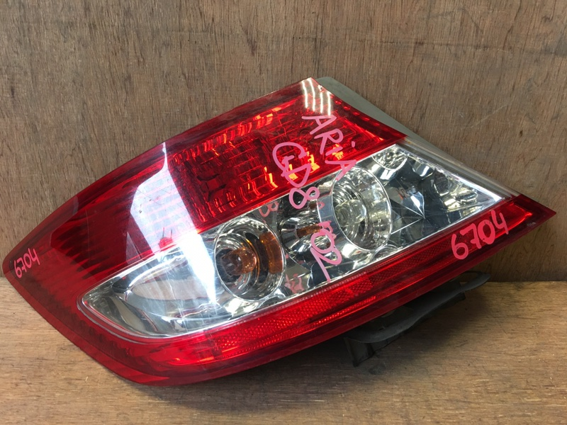 Задний фонарь Honda Fit Aria GD8 L15A 2002 задний левый P3023, 6704 (б/у)