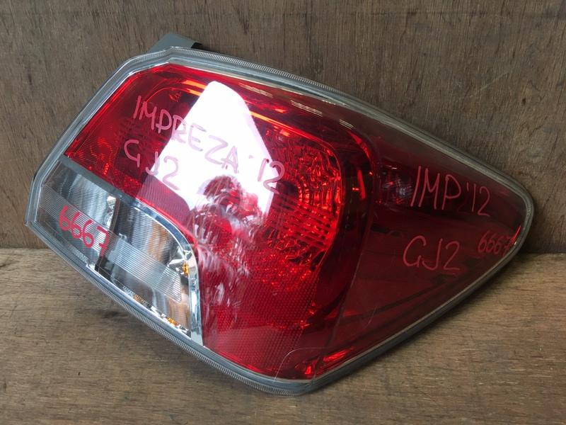 Задний фонарь Subaru Impreza GJ2 FB16 2012 задний правый 6424, 6667 (б/у)