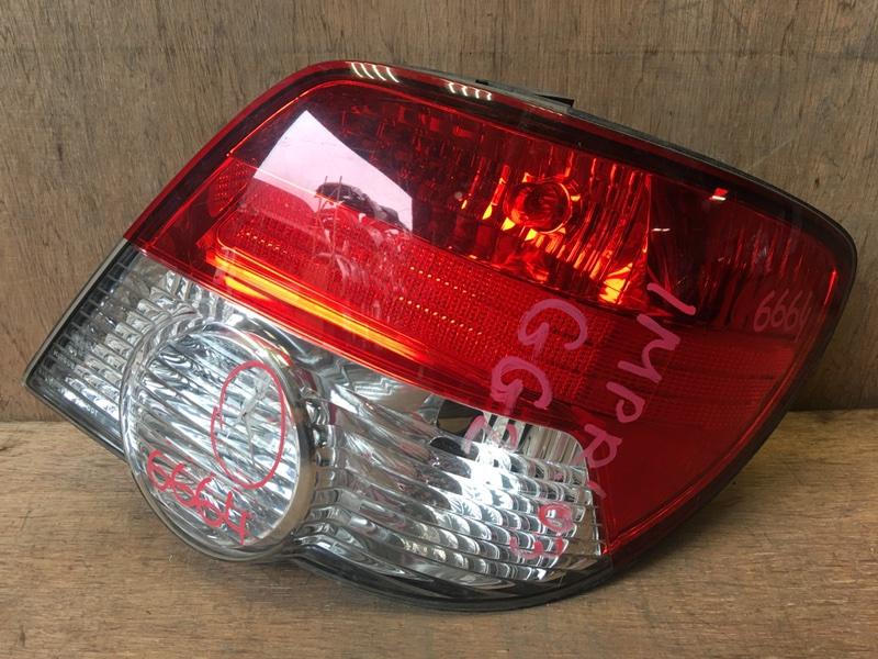 Задний фонарь Subaru Impreza GG2 EJ15 2003 задний правый 6664, vc02-009 Трещина (см. фото). (б/у)