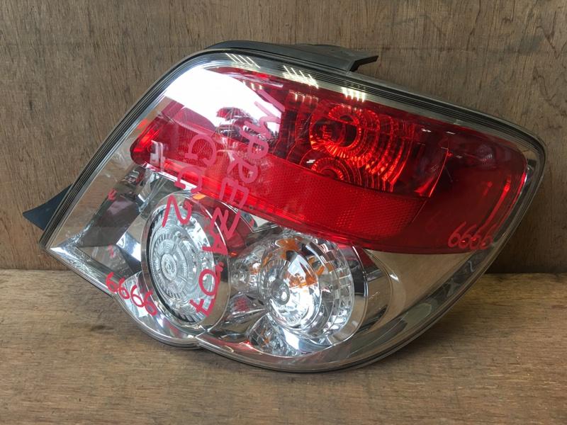 Задний фонарь Subaru Impreza GG2 EJ15 2007 задний правый 220-20918, 6666 (б/у)