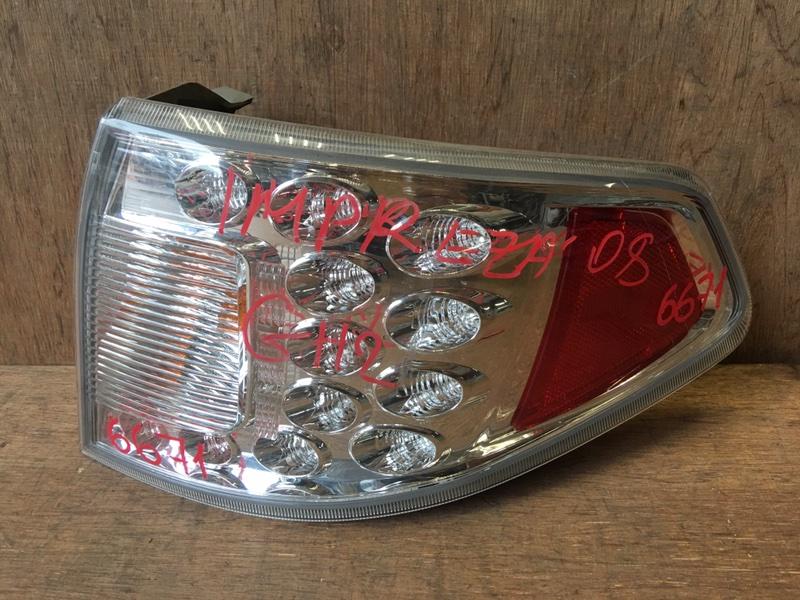 Задний фонарь Subaru Impreza GH2 EL15 2008 задний правый 220-20024, 6671 (б/у)