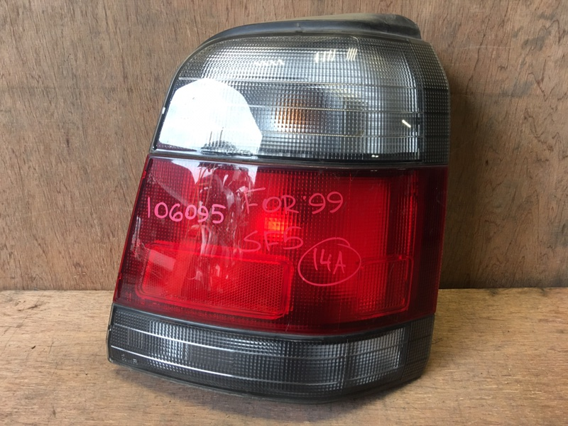 Задний фонарь Subaru Forester SF5 EJ20 1999 задний правый 220-20597, 106095 (б/у)