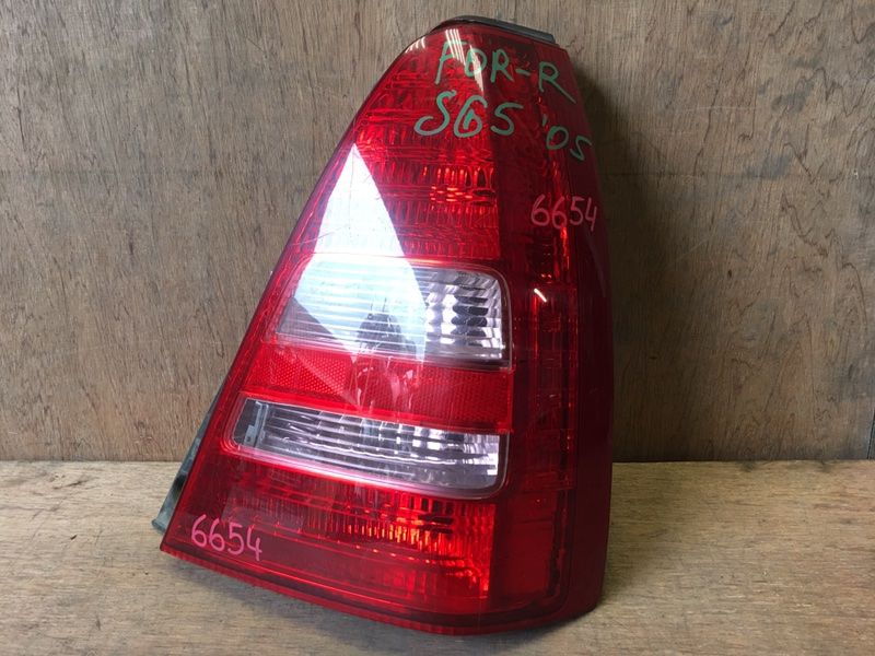 Задний фонарь Subaru Forester SG5 EJ20 2005 задний правый 220-20762, 6654 (б/у)