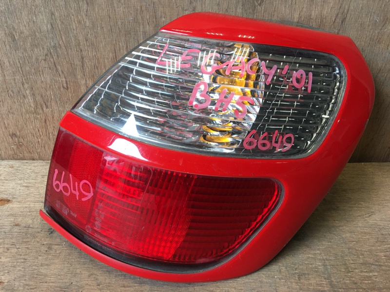 Задний фонарь Subaru Legacy BH5 EJ20 2001 задний правый 7447, 4835A, 6649 (б/у)