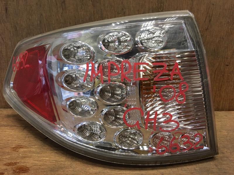 Задний фонарь Subaru Impreza GH2 EL15 2008 задний правый 220-20024 5 шт. (б/у)