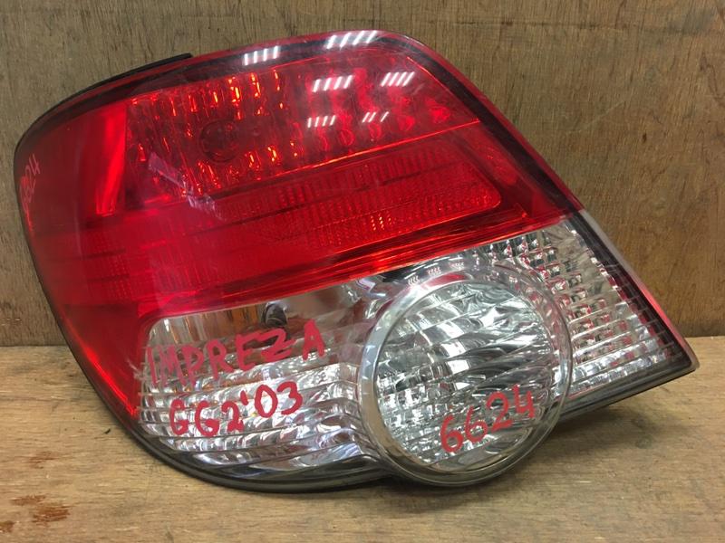 Задний фонарь Subaru Impreza GG2 EJ15 2003 задний левый vc02-009 4 шт. (б/у)