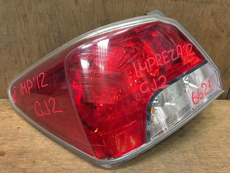 Задний фонарь Subaru Impreza GJ2 FB16 2012 задний левый 92405, 6621 (б/у)