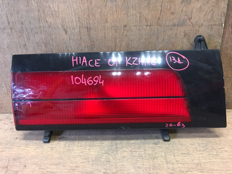 Вставка багажника Toyota Hiace KZH116 1KZ 2001 задняя левая 26-63, 104694 (б/у)