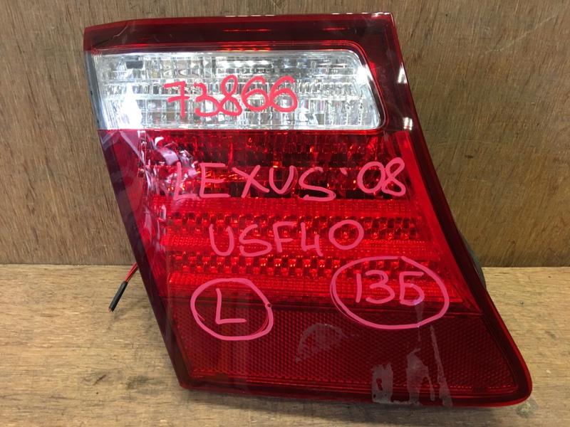 Вставка багажника Lexus Ls460 USF40 1UR 2008 задняя левая 50-91, 73866 (б/у)