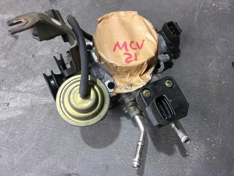 Заслонка дроссельная Toyota Mark Ii Wagon Qualis MCV21 2MZ 1999 (б/у)