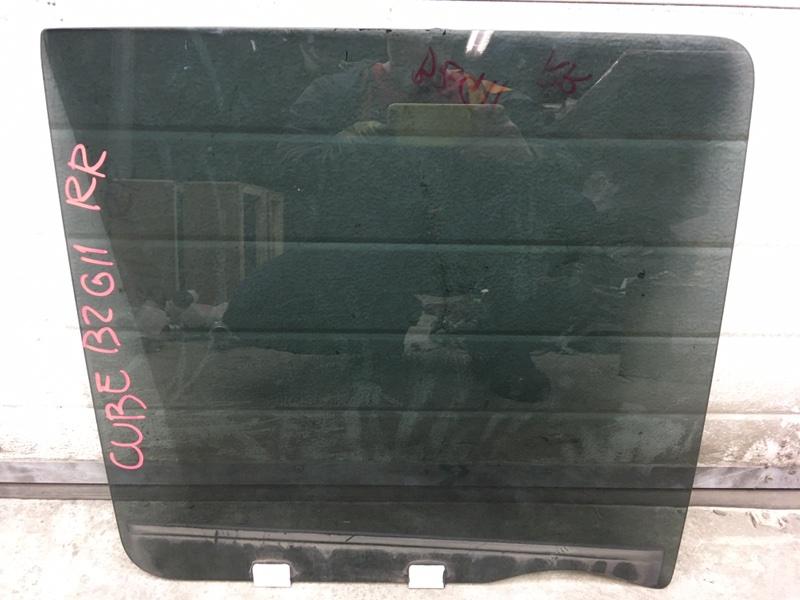 Стекло боковое Nissan Cube BZ11 CR14DE 2003 заднее правое (б/у)
